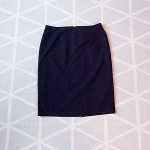 Merona Navy Blue Pencil Skirt